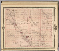 Map of Mitchell County, State of Iowa. (Published by the Andreas Atlas Co., Lakeside Building, Chicago, Ills. Engraved & printed by Chas. Shober & Co., Props. of Chicago Lithographing Co.)
