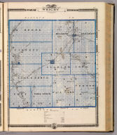 Map of Wright County, State of Iowa. (Published by the Andreas Atlas Co., Lakeside Building, Chicago, Ills. Engraved & printed by Chas. Shober & Co., Props. of Chicago Lithographing Co.)