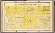 Counties of Lyon, Osceola, Dickinson, Sioux, O'Brien and Clay, State of Iowa. Chas. Shober & Co., props., Chicago Lith. Co. (Published by the Andreas Atlas Co., Lakeside Building, Chicago, Ills. Engraved & printed by Chas. Shober & Co., Props. of Chicago Lithographing Co.)
