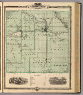 Map of Cerro Gordo County, State of Iowa. Chas Shober & Co., props., Chicago Lith. Co. (Published by the Andreas Atlas Co., Lakeside Building, Chicago, Ills. Engraved & printed by Chas. Shober & Co., Props. of Chicago Lithographing Co.)