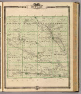 Map of Butler County, State of Iowa. Chas. Shober & Co., props., Chicago Lith. Co. (Published by the Andreas Atlas Co., Lakeside Building, Chicago, Ills. Engraved & printed by Chas. Shober & Co., Props. of Chicago Lithographing Co.)