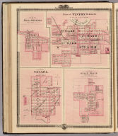 Plans of Vinton, Blairstown, Nevada and Belle Plaine.