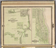 Plan of the City of McGregor and Plan of Guttenberg , Clayton Co.