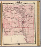 Map of Johnson County, State of Iowa. Chas. Shober & Co., props., Chicago Lith. Co. (Published by the Andreas Atlas Co., Lakeside Building, Chicago, Ills. Engraved & printed by Chas. Shober & Co., Props. of Chicago Lithographing Co.)