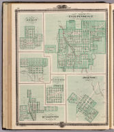 Plans of Independence, Jesup, Delphi, Winthrop, Polk City and Quasqueton.