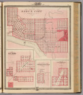 Plans of Sioux City, Le Mars, Correctionville and Cherokee.
