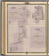Plans of Brooklyn, Grinnell, Montezuma and Malcolm, State of Iowa.