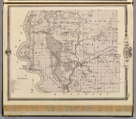 Map of Fremont County, State of Iowa. Chas. Shober & Co., props., Chicago Lith. Co. (Published by the Andreas Atlas Co., Lakeside Building, Chicago, Ills. Engraved & printed by Chas. Shober & Co., Props. of Chicago Lithographing Co.)