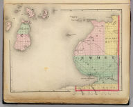 (Map of Emmet County, Michigan. Drawn, compiled, and edited by H.F. Walling, C.E. ... Published by R.M. & S.T. Tackabury, Detroit, Mich. Entered ... 1873, by H.F. Walling ... Washington. The Claremont Manufacturing Company, Claremont, N.H., Book Manufacturers)