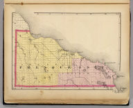 (Map of Presque Isle County, Michigan. Drawn, compiled, and edited by H.F. Walling, C.E. ... Published by R.M. & S.T. Tackabury, Detroit, Mich. Entered ... 1873, by H.F. Walling ... Washington. The Claremont Manufacturing Company, Claremont, N.H., Book Manufacturers)