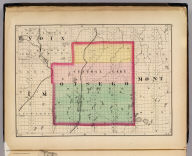 (Map of Otsego County, Michigan. Drawn, compiled, and edited by H.F. Walling, C.E. ... Published by R.M. & S.T. Tackabury, Detroit, Mich. Entered ... 1873, by H.F. Walling ... Washington. The Claremont Manufacturing Company, Claremont, N.H., Book Manufacturers)