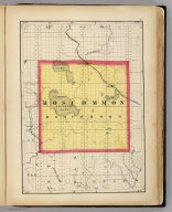(Map of Roscommon County, Michigan. Drawn, compiled, and edited by H.F. Walling, C.E. ... Published by R.M. & S.T. Tackabury, Detroit, Mich. Entered ... 1873, by H.F. Walling ... Washington. The Claremont Manufacturing Company, Claremont, N.H., Book Manufacturers)