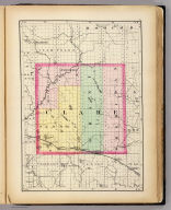 (Map of Clare County, Michigan. Drawn, compiled, and edited by H.F. Walling, C.E. ... Published by R.M. & S.T. Tackabury, Detroit, Mich. Entered ... 1873, by H.F. Walling ... Washington. The Claremont Manufacturing Company, Claremont, N.H., Book Manufacturers)