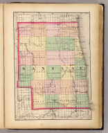 (Map of Sanilac County, Michigan. Drawn, compiled, and edited by H.F. Walling, C.E. ... Published by R.M. & S.T. Tackabury, Detroit, Mich. Entered ... 1873, by H.F. Walling ... Washington. The Claremont Manufacturing Company, Claremont, N.H., Book Manufacturers)
