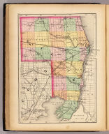 (Map of St. Clair County, Michigan. Drawn, compiled, and edited by H.F. Walling, C.E. ... Published by R.M. & S.T. Tackabury, Detroit, Mich. Entered ... 1873, by H.F. Walling ... Washington. The Claremont Manufacturing Company, Claremont, N.H., Book Manufacturers)