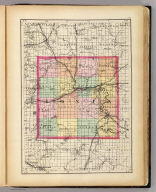 (Map of Ionia County, Michigan. Drawn, compiled, and edited by H.F. Walling, C.E. ... Published by R.M. & S.T. Tackabury, Detroit, Mich. Entered ... 1873, by H.F. Walling ... Washington. The Claremont Manufacturing Company, Claremont, N.H., Book Manufacturers)
