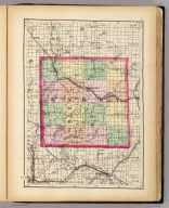 (Map of Barry County, Michigan. Drawn, compiled, and edited by H.F. Walling, C.E. ... Published by R.M. & S.T. Tackabury, Detroit, Mich. Entered ... 1873, by H.F. Walling ... Washington. The Claremont Manufacturing Company, Claremont, N.H., Book Manufacturers)