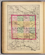 (Map of Livingston County, Michigan. Drawn, compiled, and edited by H.F. Walling, C.E. ... Published by R.M. & S.T. Tackabury, Detroit, Mich. Entered ... 1873, by H.F. Walling ... Washington. The Claremont Manufacturing Company, Claremont, N.H., Book Manufacturers)