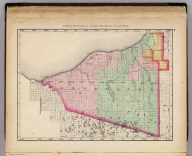 Upper Peninsula, scale six miles to an inch (Ontonagon County. Drawn, compiled, and edited by H.F. Walling, C.E. ... Published by R.M. & S.T. Tackabury, Detroit, Mich. Entered ... 1873, by H.F. Walling ... Washington. The Claremont Manufacturing Company, Claremont, N.H., Book Manufacturers)