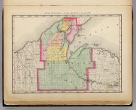 Upper Peninsula, scale six miles to an inch (Houghton County. Drawn, compiled, and edited by H.F. Walling, C.E. ... Published by R.M. & S.T. Tackabury, Detroit, Mich. Entered ... 1873, by H.F. Walling ... Washington. The Claremont Manufacturing Company, Claremont, N.H., Book Manufacturers)