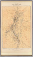 Map of the Washoe District Showing Mining Claims. United States Geological Survey. Geology of the Comstock Lode, &c. Atlas Sheet III. Claims Mapped by Hoffman and Craven, 1881. Topography by U.S. Geographical Surveys West of the 100th Meridian. G.F. Becker, Geologist in Charge. Julius Bien & Co. Lith. N.Y.