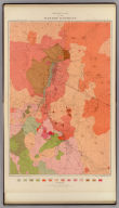 Geological Map of the Washoe District. United States Geological Survey. Geology of the Comstock Lode, &c. Atlas Sheet IV. Topography by U.S. Geographical Surveys West of the 100th Meridian. Geology by G.F. Becker, Geologist in Charge. Julius Bien & Co. Lith. N.Y.