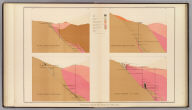 Vertical Cross Sections of the Lode. United States Geological Survey. Geology of the Comstock Lode, &c. Atlas Sheet V. Mapping by R.H. Stretch. Geology by G.F. Becker, Geologist in Charge. Julius Bien & Co. Lith. N.Y.