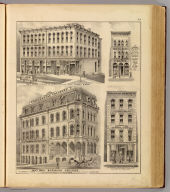 Saint Paul Business College ... (with) Lewis' Block ... (with) Zimmerman's Photographic Gallery ... (with) Wm. R. Burkhard, successor to Wm. Golcher, Sportsman's Headquarters ... (all St. Paul, Minn.) (Published by A.T. Andreas, Lakeside Building, Chicago, 1874. Chas. Shober & Co. Proprietors of Chicago Lith. Co.)