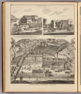 State Prison of Minnesota, Stillwater; Walker, Judd & Veazie, Marine; View of residence & store of S.W. Furber, Cottage Grove.