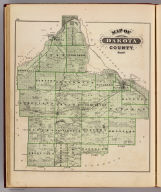 Map of Dakota County, Minn. (Published by A.T. Andreas, Lakeside Building, Chicago, 1874. Chas. Shober & Co. Proprietors of Chicago Lith. Co.)