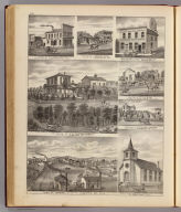 Residences, businesses, and Town of Eyota, Olmsted Co. and Rochester, Minn.