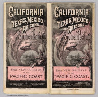 Cover: California, Texas, Mexico and Arizona Southern Pacific Co.