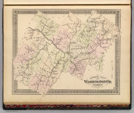 Outline plan of Washington Co., Vermont. (Published by H.W. Burgett & Co. 36 Vesey Street, New-York. 1876. Entered ... 1876 by H.W. Burgett & Co. ... Washington D.C. Engraved & printed by J.B. Beers & Co. 36 Vesey St. N.Y.)