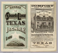 Cover:Texas, I & GN. RR. Lone Star Route.