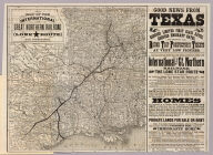 Map of the International and Great Northern Railroad. Lone (Star) route and connections. Woodward, Tiernan & Hale, Map Engravers, St. Louis. Rand, McNally & Co, Map Engr's Chicago. (1878)