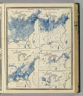 Population - United States census, 1870. Density, Foreign, Colored, British American, Swedish and Norwegian.