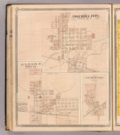 Columbia City, Whitley Co., Ind. (with) Albion, Churubusco.