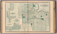 Map of the City of Fort Wayne (with) Cedarville, Sheldon, Arcola, New Haven.