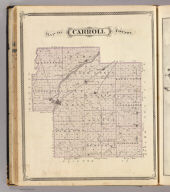 Map of Carroll County.