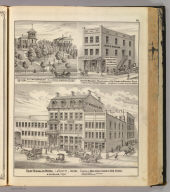 Saint Nicholas Hotel, La Fayette (with) Res. of Wm. (and) Rudolph Schwegler, John B. Wagner, Manufacturer of Fine Cigars.