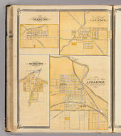 City of Anderson (with) Frankton, Elwood, Pendleton, Madison Co.