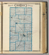 Map of Madison County.