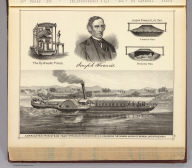 Corrugated iron steam yacht for the Nawab Nazim of Bengal, with J. Francis.