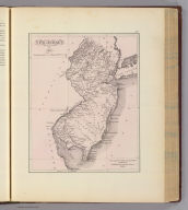 New Jersey, 1812. From Capt. Wm. Giberson's chart book Toms River, published by Thomas & Andrews, Boston. (with portrait of) Joseph Francis. (Philadelphia, Woolman & Rose, 1878). (Philadelphia, Woolman & Rose, 1878)