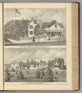 Germania Hotel, Long Branch and Hughes Brothers, Cape May.