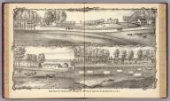 Portion of property owned by George A. Hance in Monmouth Co., N.J. (Drawn by) Arms. (Philadelphia, Woolman & Rose, 1878).