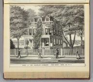 Residence of Dr. Charles Hubbard, Red Bank, Mon. Co., N.J.