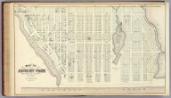 Map of Asbury Park, Monmouth County, New Jersey.