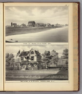 View at Reids Villa Park and Res. of Rev. A.A. Willits, Spring Lake, N.J.