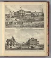 Haddon House, Lippincott & Stokes, propr's. ... (with) Cottage res. of Robt. Kaighn ... (with) Residence of Eliza P. Gurney ... (all) Atlantic City, N.J. (Philadelphia, Woolman & Rose, 1878).